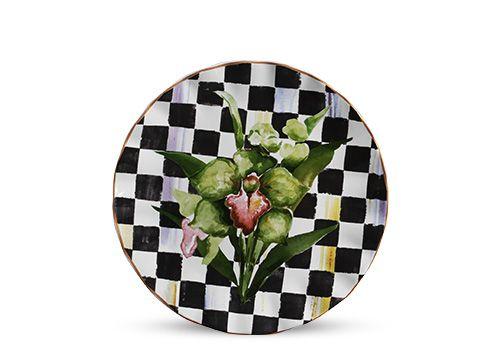 Sousplat Xadrez Floral Chess