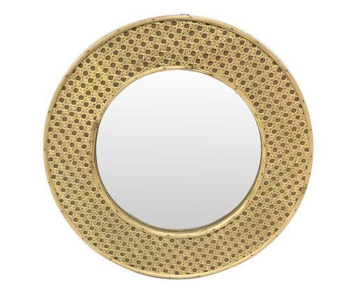 Espelho Palha Indiana