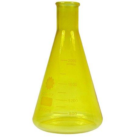 Garrafa Science Amarelo G