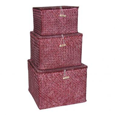 Caixa de Fibra Vermelho
