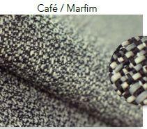 Tecido Copacabana Café/Marfim OUTDOOR