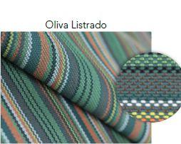 Tecido Stripes Oliva Listrado OUTDOOR