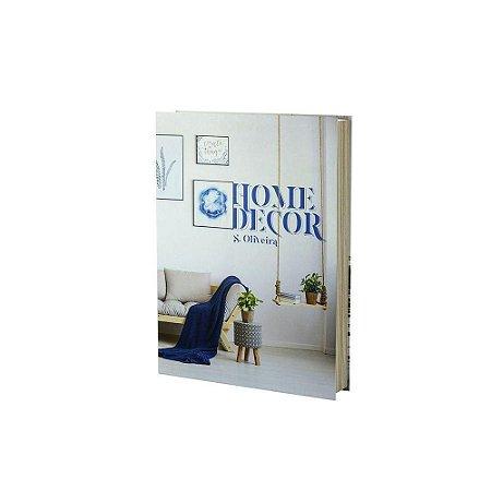 Caixa Livro Home Decor