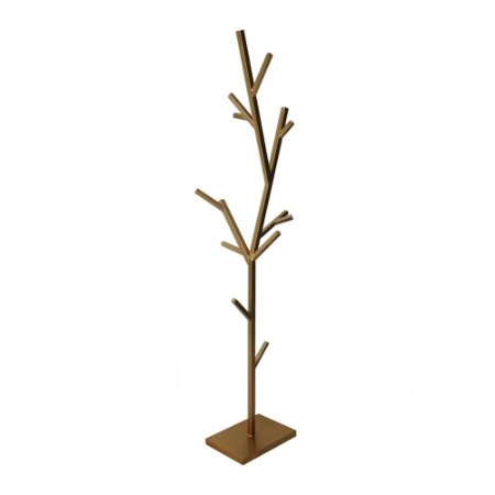 Cabideiro Árvore Dourado