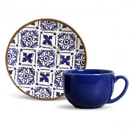 Conjunto Xícaras Chá Asteca 6pçs