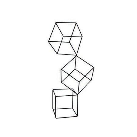 Escultura Cubos G