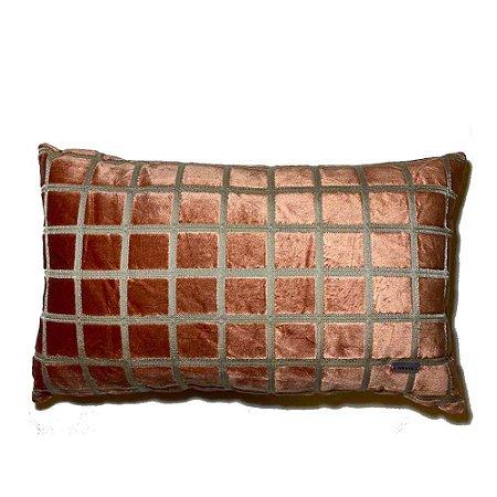 Almofada Cube Coral Bag