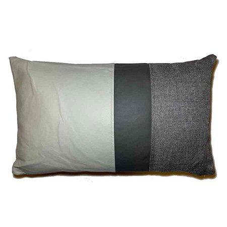 Almofada Grey Linen e Courissimo Bag