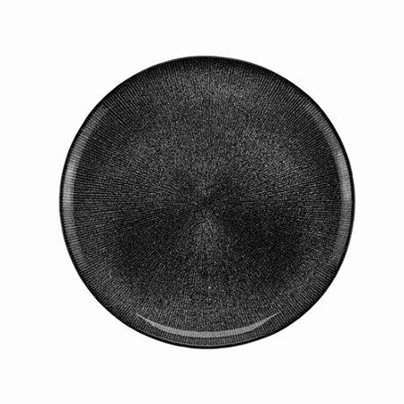 Prato de Sobremesa Cristal Chumbo Dots