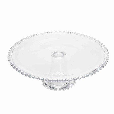 Boleira de Cristal de Chumbo com Pearl