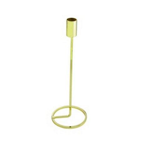 Castiçal Light Dourado G