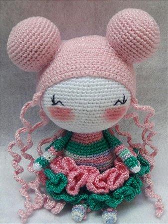 Boneca de bailarina Amigurumi - Padrão de crochê grátis por ... | 450x337