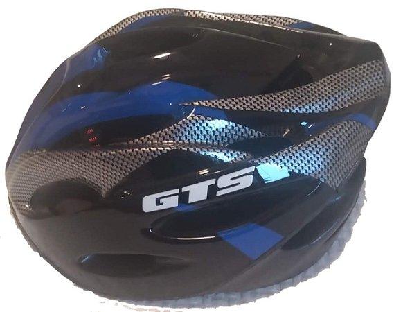 capacete de ciclismo GTS Azul