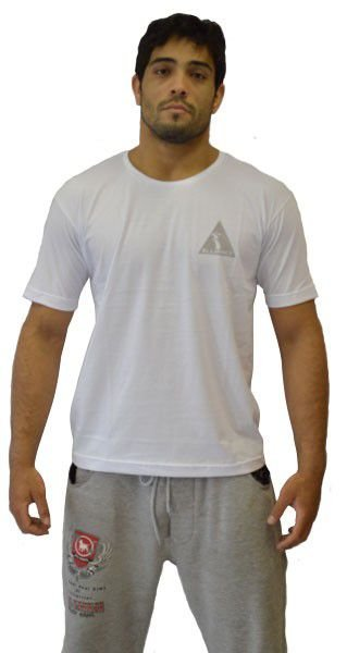 Camiseta Alliance Juvenil Never Give Up Branco