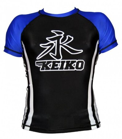 Rashguard Speed Manga Curta Azul