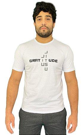 Camiseta Gratitude Branco
