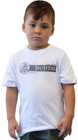 Camiseta Infanto Juvenil Family Branco