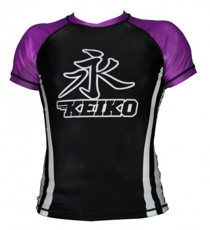 Rashguard Speed Manga Curta Roxa