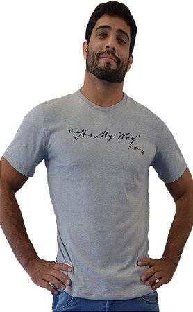 Camiseta My Way Cinza