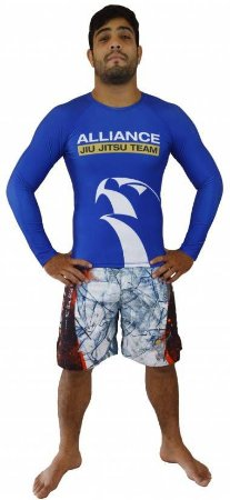 Rashguard Alliance Azul