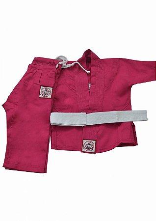 Kimono Infantil Universal Rosa
