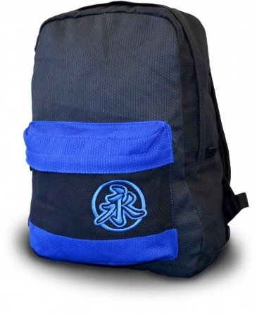 Mochila New Style Preto/Azul