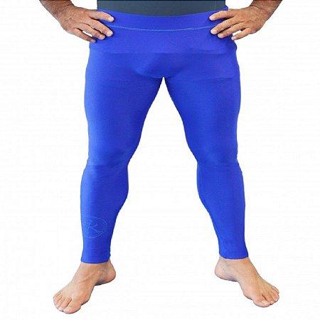 Calça Grade Azul