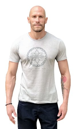 Camiseta Samadh Cinza