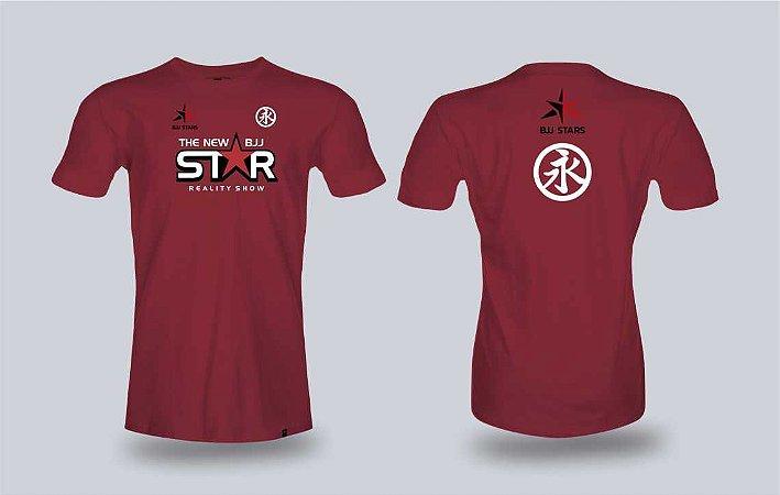 Camiseta The New BJJ Stars Vermelho