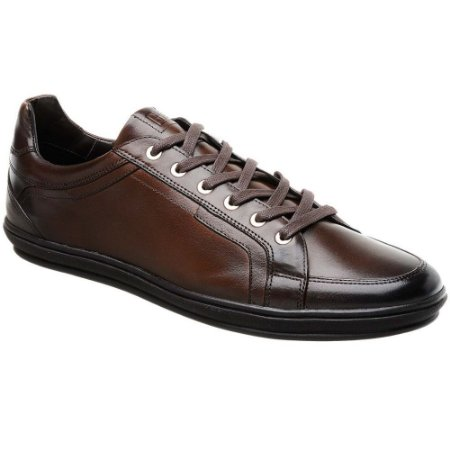 SAPATO MASCULINO JOTA PE 12359 DARK BROWN