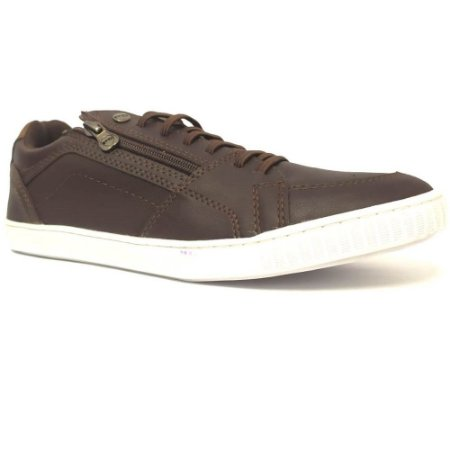 SAPATENIS MASCULINO PED SHOES 17003 CAFE/CAMEL