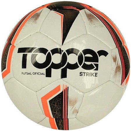 BOLA MASCULINO TOPPER 4203610 STRIKE CPO BRANCO/VERMELHO/PRE