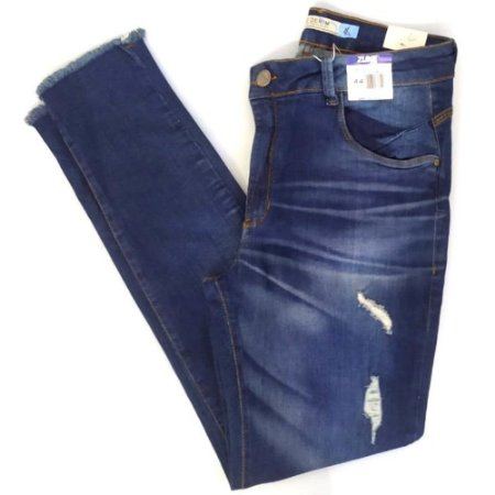 CALCA FEMININO ZUNE 24824 DENIM