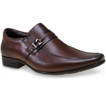 SAPATO MASCULINO JOTA PE 13175 DARK BROWN