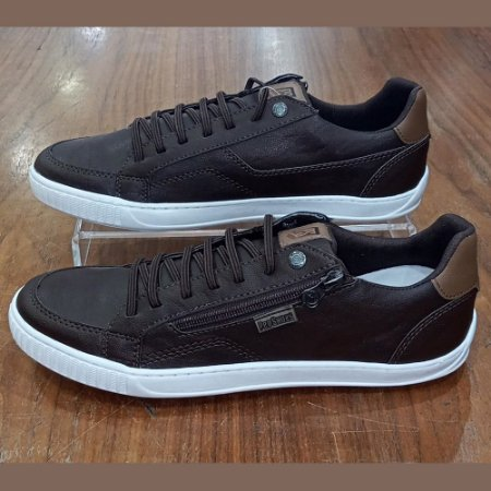 SAPATENIS MASCULINO PED SHOES 17001 CAFE/WHISKY