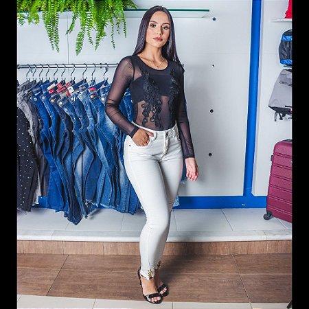 CALCA FEMININO ZUNE 22369 OFF WHITE