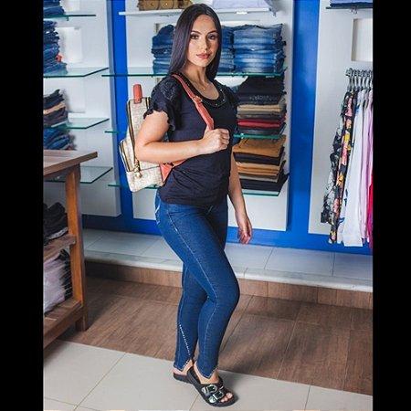 CALCA FEMININO ZUNE 36278 INDIGO