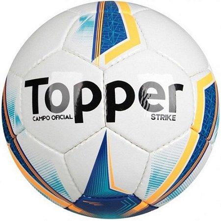 BOLA MASCULINO TOPPER 4201554 STRIKE BRANCO/AZL/LAR