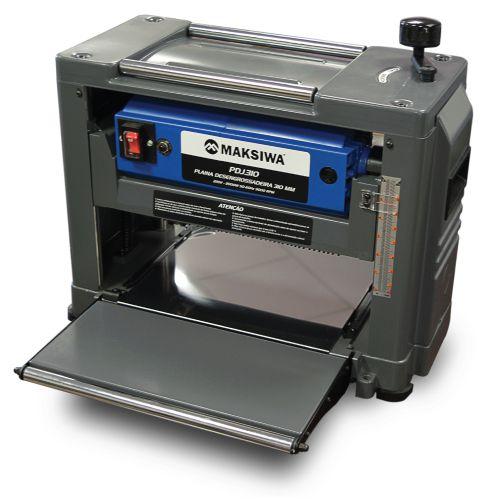 PLAINA DESENGROSSADEIRA 310 MM PDJ.310 110 VTS - MAKSIWA