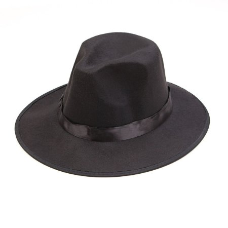 Chapéu Clássico Social Preto