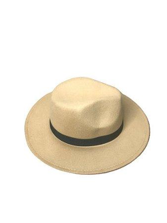 Chapéu Fedora - Caramelo