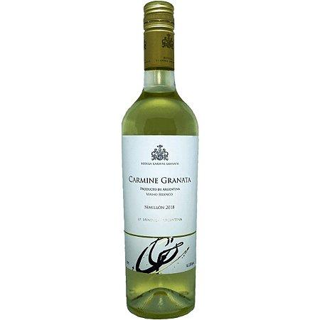 Vinho Branco Argentino Carmine Granata Semillón