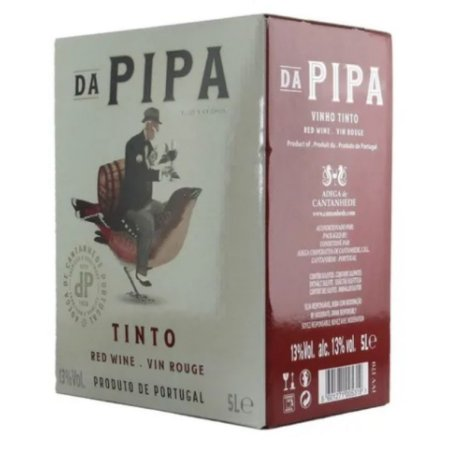 Vinho Tinto Português Da Pipa Bag in box 5L