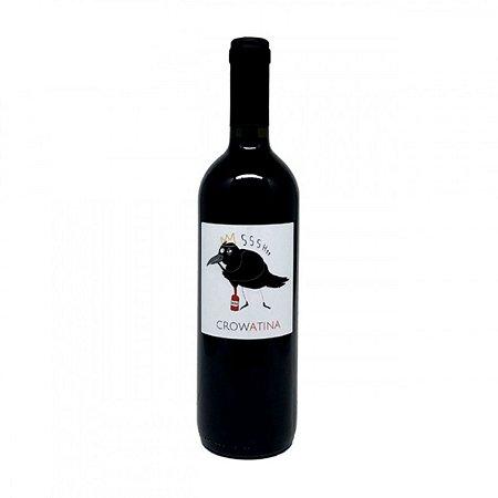 Vinho Tinto Italiano Crowatina Pavia IGT Biodinâmico