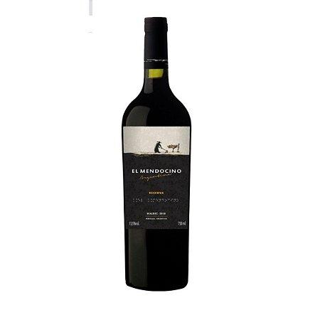Vinho Tinto Argentino El Mendocino Reserva Malbec