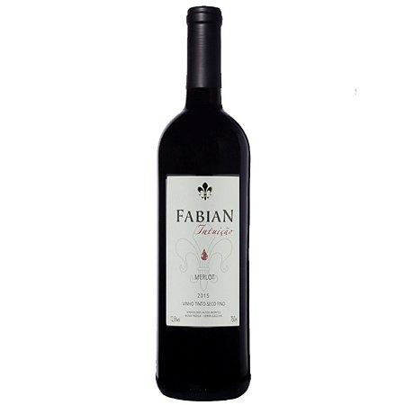 Vinho Tinto Brasileiro Fabian Intuição Merlot 2017