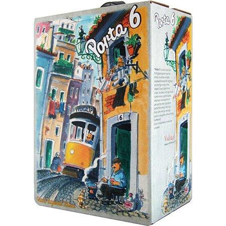 Vinho Tinto Português Porta 6 Bag in Box 3 litros