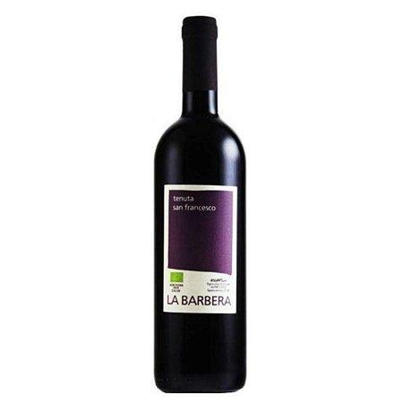 Vinho Tinto Italiano Orgânico San Francesco La Barbera