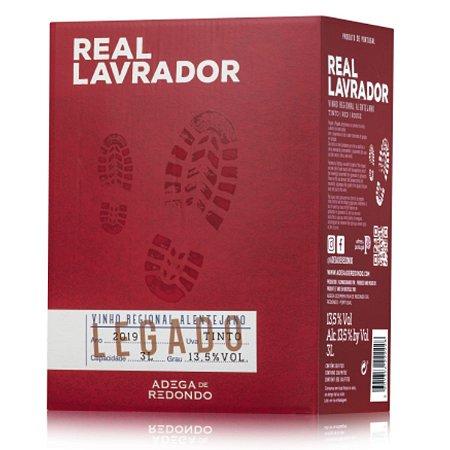 Vinho Tinto Português Real Lavrador Bag in Box 3 Litros