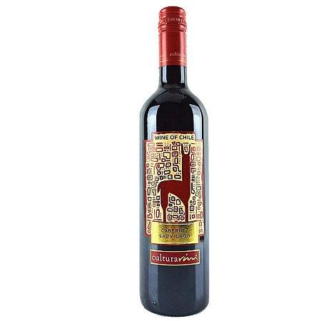 Vinho Tinto Chileno Cultura Vini Cabernet Sauvignon
